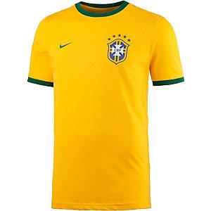 Nike Brasilien Fanshirt Herren gelb/grün