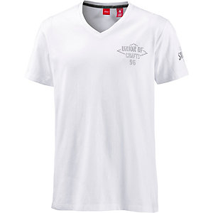 S.OLIVER V-Shirt Herren weiß