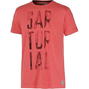 GARCIA Printshirt Herren rot