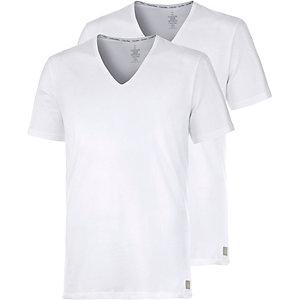 Calvin Klein Shirt Doppelpack Herren weiß
