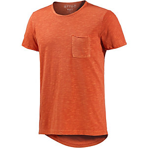 TOM TAILOR T-Shirt Herren orange