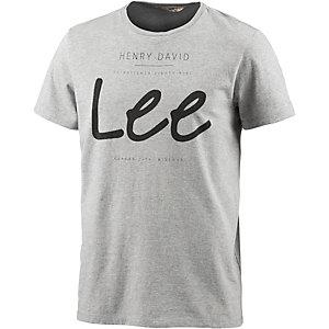 Lee Printshirt Herren graumelange