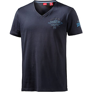 S.OLIVER V-Shirt Herren dunkelblau
