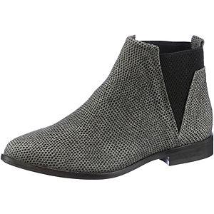 Bullboxer Chelsea Boots Damen grau/schwarz
