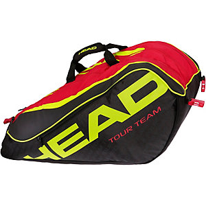 HEAD Extreme 12R Monstercombi Tennistasche schwarz/rot/gold