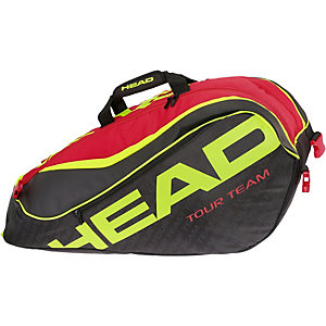 HEAD Extreme 9R Supercombi Tennistasche schwarz/rot/gold