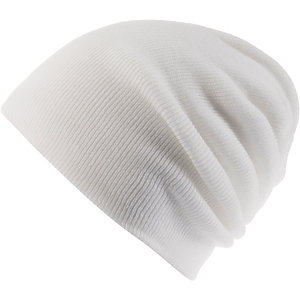 MasterDis Basic Flap Beanie white