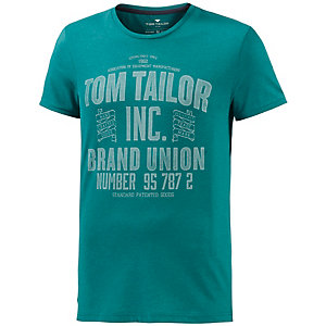TOM TAILOR T-Shirt Herren grün