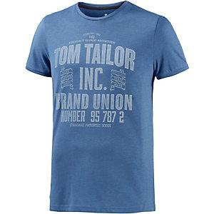 TOM TAILOR T-Shirt Herren jeansblau