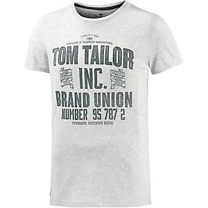 TOM TAILOR T-Shirt Herren beige