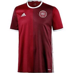adidas Dänemark 2016 Heim Fußballtrikot Herren rot