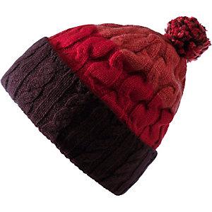Patagonia Pom Bommelmütze Damen rot
