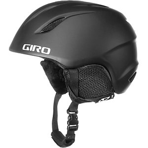 Giro Launch Skihelm Kinder mat black