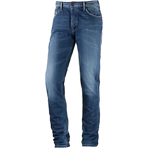 Pepe Jeans Vapour Straight Fit Jeans Herren blue used denim