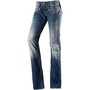 Herrlicher Pitch Straight Fit Jeans Damen dark denim