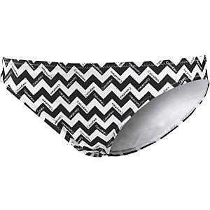 Calvin Klein Chevron Bügelbikini Damen schwarz/weiß