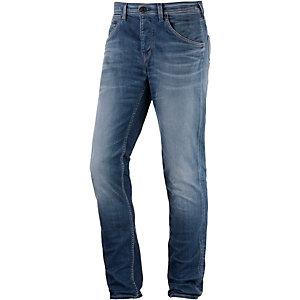 Pepe Jeans Flint Straight Fit Jeans Herren bluegrey denim
