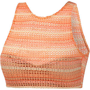 Volcom Wildly Bare Bikini Oberteil Damen neonorange/gelb