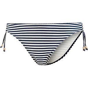 ESPRIT Hamptons Beach Bikini Hose Damen marine/weiß