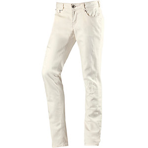 GARCIA Skinny Fit Jeans Damen white denim