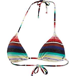 Billabong Road Trippin Bikini Oberteil Damen weiß/rot/blau/türkis