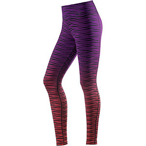Nike Legendary Tights Damen schwarz/rot