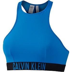 Calvin Klein Bikini Oberteil Damen blau