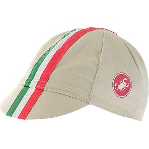 castelli Retro 2 Cap weiß