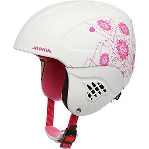 ALPINA CARAT LE Skihelm weiß/pink