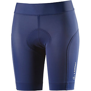 Löffler Tight Hotbond Funktionsshorts Damen blau