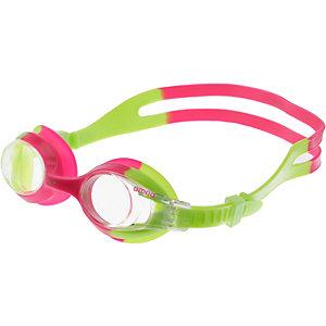 Arena X-Lite Schwimmbrille grün/pink
