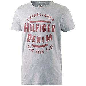 Tommy Hilfiger Printshirt Herren hellgrau