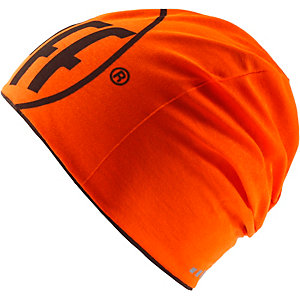 BUFF Microfiber Reversible Beanie R-Logo Graphite-Orange