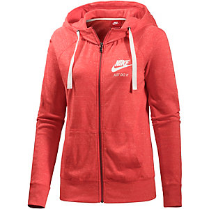nike gym vintage sweatjacke damen rot im online shop von. Black Bedroom Furniture Sets. Home Design Ideas