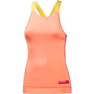 adidas Funktionstank Damen orange/gelb