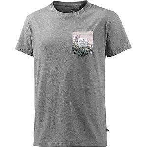 Alprausch Bergtäschli T-Shirt Herren graumelange