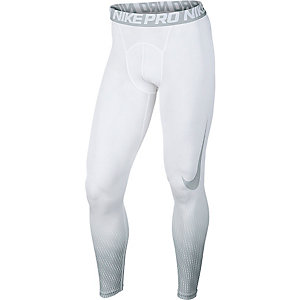 Nike Pro Dry Fit Tights Herren weiß