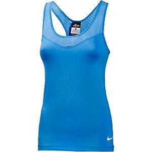 Nike Pro Funktionstank Damen blau