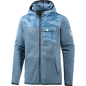 Colour Wear Pine Fleecejacke Herren blau