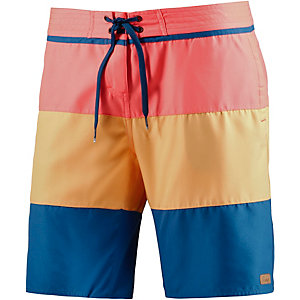 Protest Laketown Badeshorts Damen koralle/orange/blau
