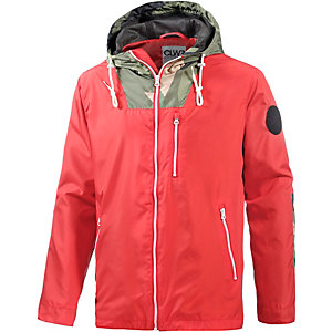 Colour Wear Lava Kapuzenjacke Herren rot