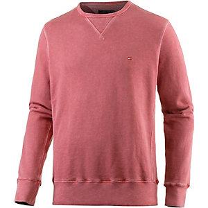 Tommy Hilfiger Sweatshirt Herren rot washed