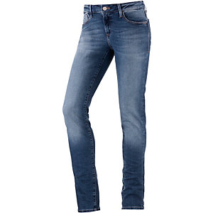 Mavi Adriana Skinny Fit Jeans Damen light denim