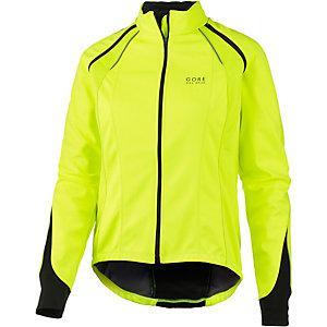Gore Phantom Fahrradjacke Damen gelb