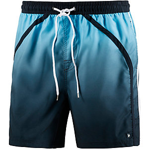 BRUNO BANANI Glassy Badeshorts Herren blau/marine