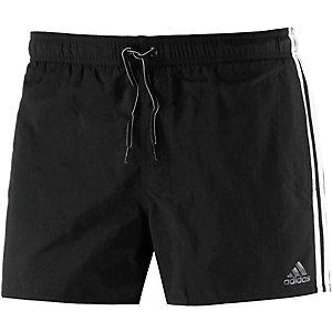 adidas Badeshorts Herren schwarz/weiß