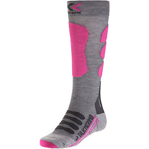 X-SOCKS Skisocken anthrazit/pink