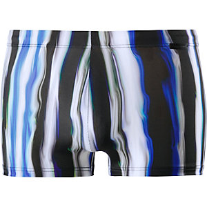 BRUNO BANANI Crazy Wave Kastenbadehose Herren blau/schwarz/weiß