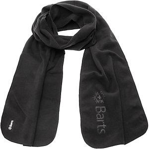 Barts Fleece Schal schwarz