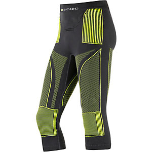 X-Bionic Tights Herren anthrazit/gelb